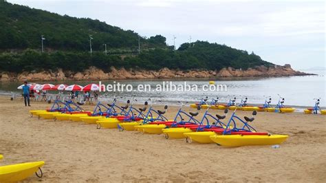 pedal bike boats for sale heitro polyethylene funny water pedal bike water bike