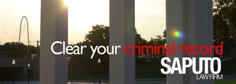 Clear Your Criminal Record Clear Your Criminal Record