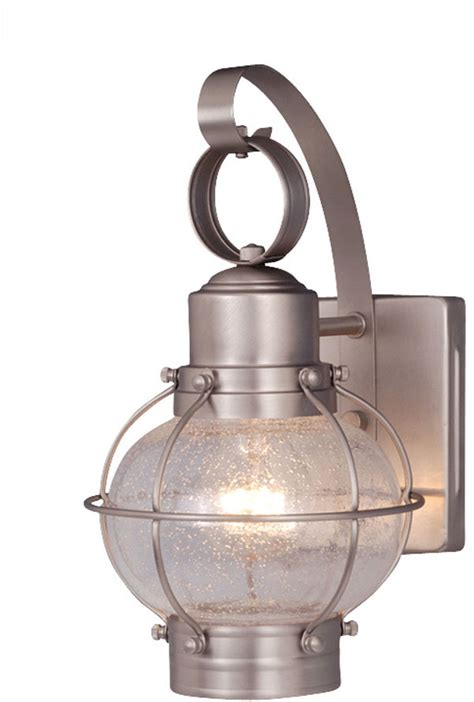 brushed nickel exterior lights wall sconce ideas brushed nickel nautical wall sconces