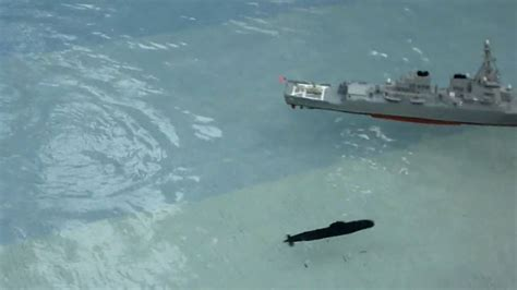 boat r fights unknown submarine attacks us battle ship youtube