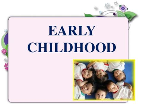 Early Childhood Development Free Early Childhood Powerpoint Templates