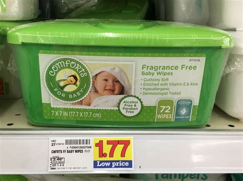 comforts for baby comforts for baby wipes only 1 27 at kroger kroger krazy