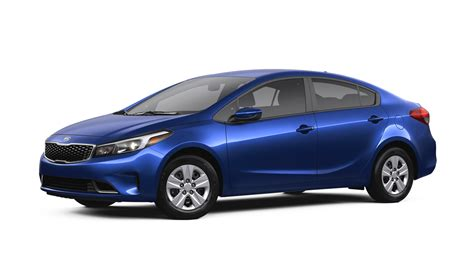 Blue Kia 2017 Kia Forte Color Options