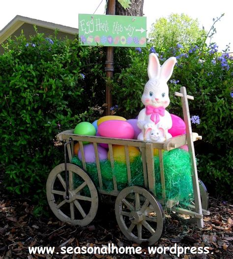 30 lovely easter outdoor decorations easter decoration