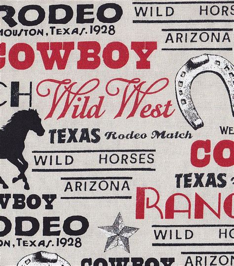 rodeo home decor rodeo fabric rodeo verbiage home decor at joann