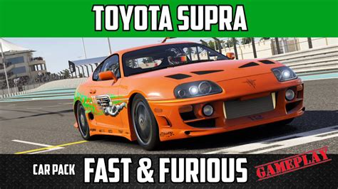 Why Are Toyota Supras So Fast Forza 6 Toyota Supra Gameplay 60fps Fast Furious