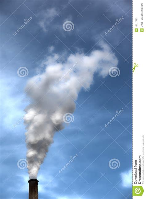 Smoke Comes Out Of Fireplace by Smoke Coming Out A Chimney Royalty Free Stock Photography
