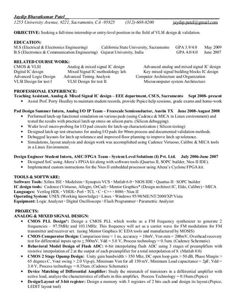 fpga design engineer resume resume ideas