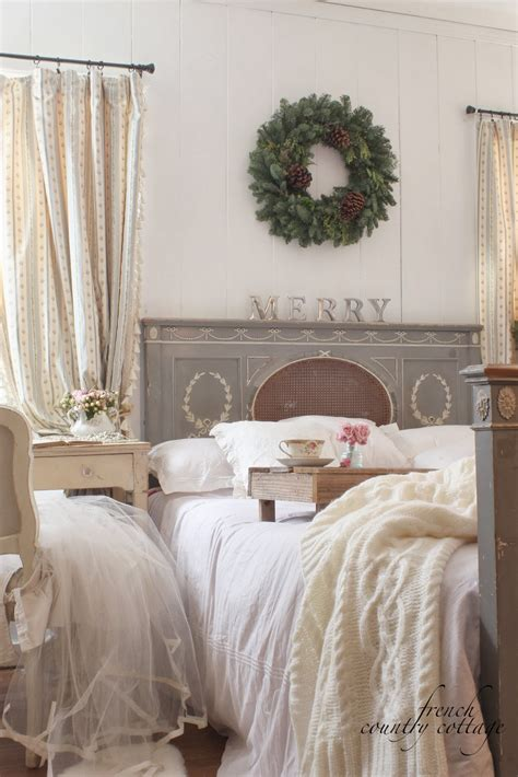 country cottage bedroom a little bit merry cottage bedroom christmas details