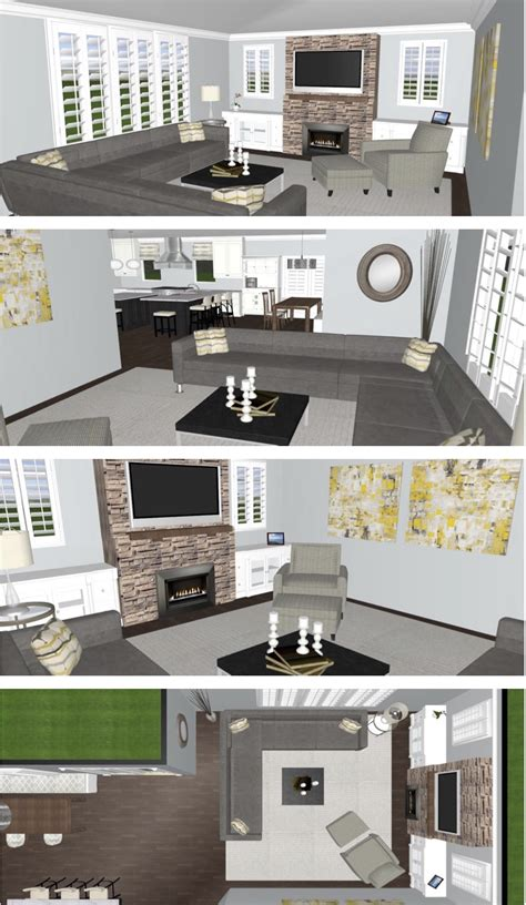 room space planner space planning a family room so chic