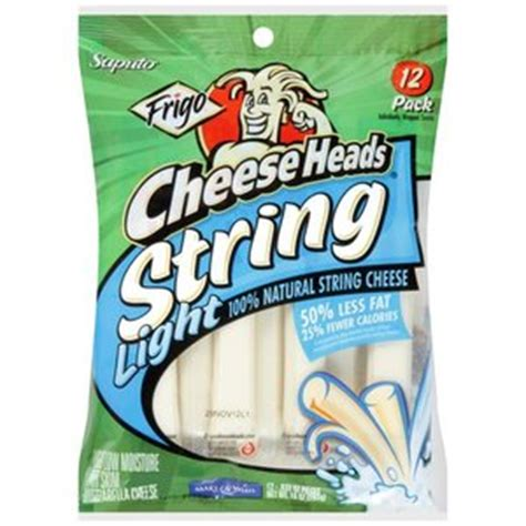 frigo light string cheese cheese heads light string nutrition facts blog dandk