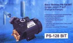 Shimizu Pompa Air Ps 226 Bit Non Automatic Diskon pompa air shimizu sentral pompa solusi pompa air rumah