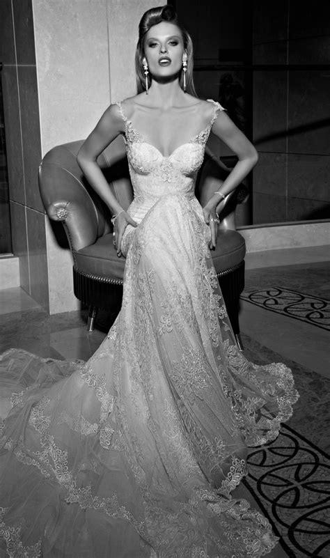 Wst 14234 Open Back Embroidered Top 1 galia lahav wedding dresses 2015 modwedding