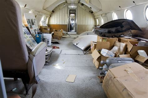 Air One Interior by Marana Regional Airport Home To Historic Air One