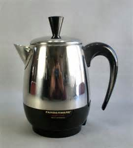 Vintage Farberware Superfast 134B Percolator Coffee Maker Pot 2   4 C