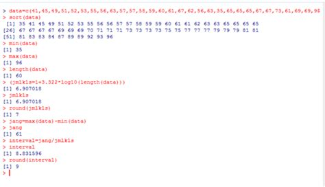 membuat batas atas dan batas bawah distribusi frekuensi membuat grafik histogram dan poligon und 243 miel s blog