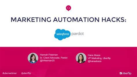 marketing automation hacks pardot