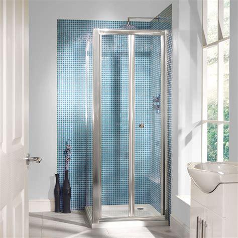 700 Bi Fold Shower Door 6mm 700 Bi Fold Door Shower Enclosure