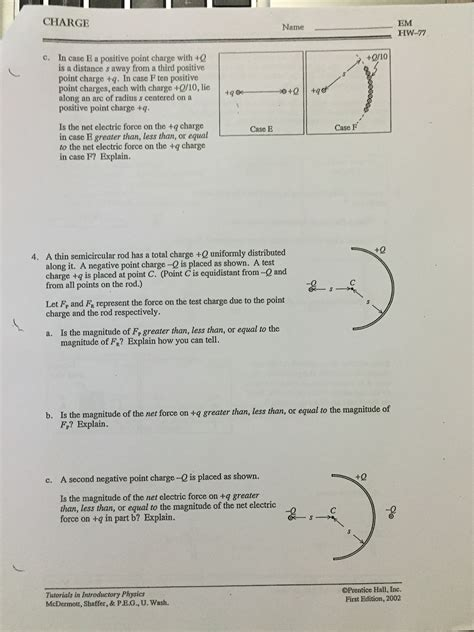 physics tutorial questions and answers solved tutorials in introductory physics homework