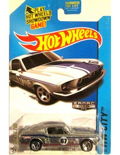 Mustang Zamac Wheels Hotwheels Hotwhels 2014 wheels hw city 67 custom mustang zamac ships in a box