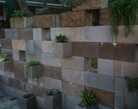 Cinder Block Wall Planter by Cinderblock Succulent Planter Nybro Peterson