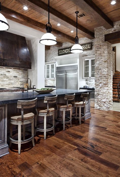 rustic contemporary kitchen rustic texas property with contemporary design and luxury