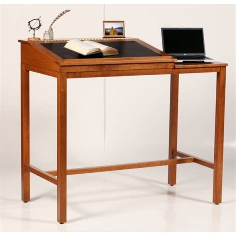 Jefferson Standing Desk by Key West Standing Desk For Reading Writing