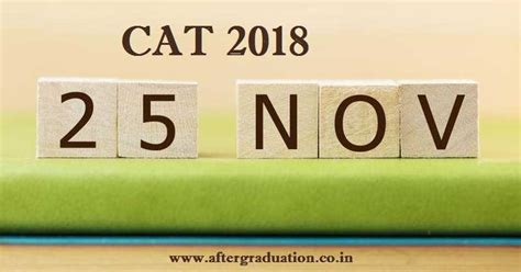 Cat Mba 2018 by Cat 2018 On November 25 Notification Expected In July