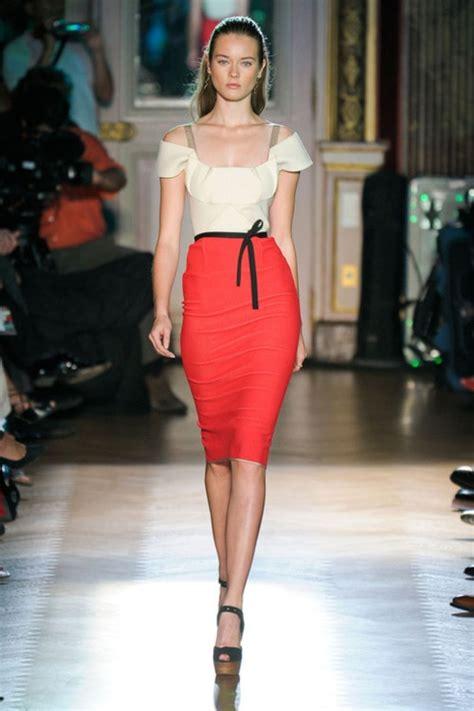 Letizia Letizia Tunik en moda k箟rm箟z箟 kalem etek kombinleri