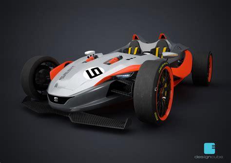 design formula seat formula 1430 concept car body design
