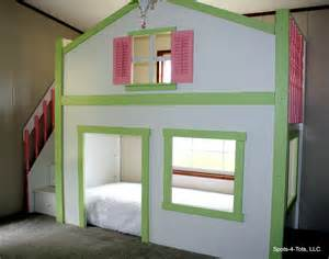 dollhouse loft bed custom bedroom custom bunk bed