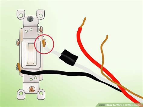 how to wire a 3 way switch with pictures wikihow