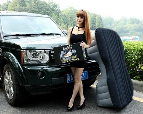 most comfortable way to sleep in a car heavy duty inflatable car suv mattress inflatable bed back