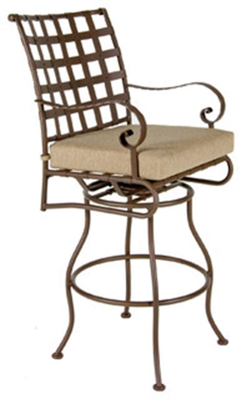 classico swivel bar stool with arms eclectic outdoor