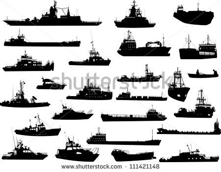 us navy ship silhouettes clipart