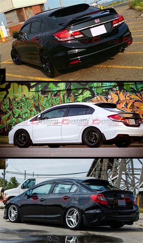 Ducktail Honda Civic Fb 2012 Up High Quality Fiber 2012 2015 Fb 9th Honda Civic Sedan Jdm Rear Roof