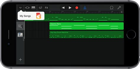 garageband for ios how to create a ringtone or text tone in garageband