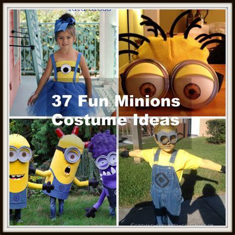 Diy Minion Costume Ideas  Halloween