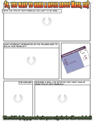 story planner template story problem planning template 1 0 the tech savvy