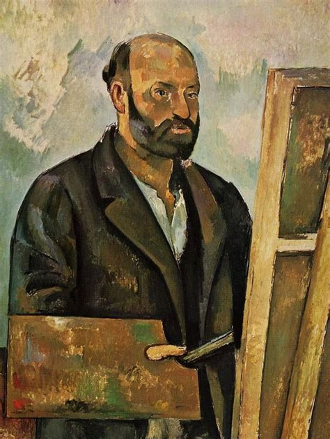 cezanne by himself drawings 0316728136 epph c 233 zanne s self portrait with a palette 1885 7