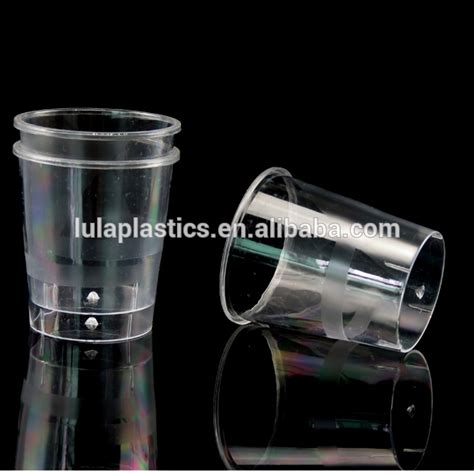 Cylindrical Appetizer Holder It Or It by Cylinder Mini Dessert Appetizer Cup 1oz Plastic Tasting