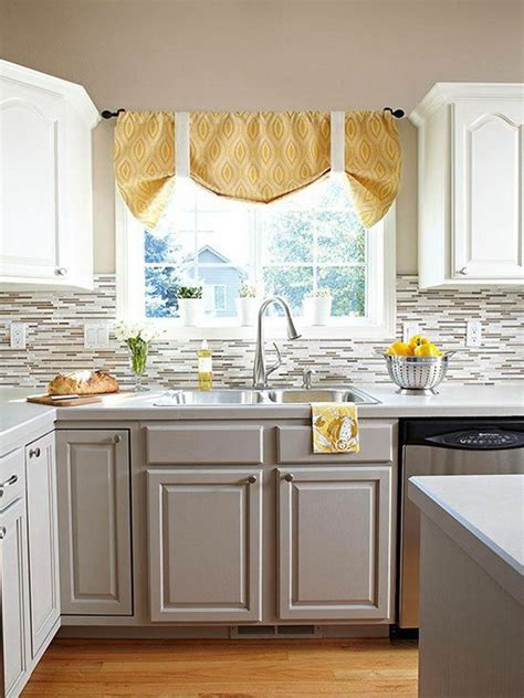 Kitchen Cabinet Colors Stylish Two Tone Kitchen Cabinets For Your Inspiration