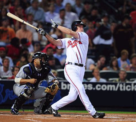 chipper jones swing atlanta braves the world of willo