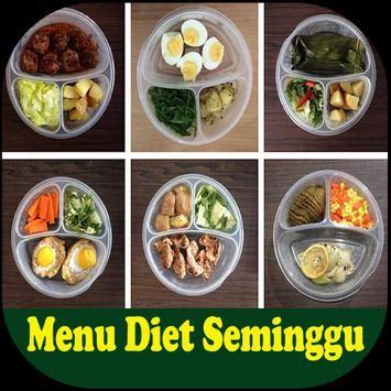 menu diet seminggu  android apk