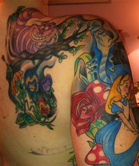 pinterest tattoo alice in wonderland alice in wonderland half sleeve tattoos pinterest