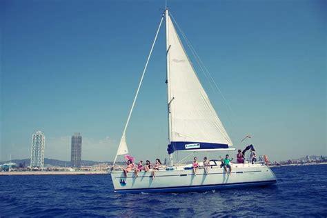 catamaran trips in barcelona boat trip barcelona