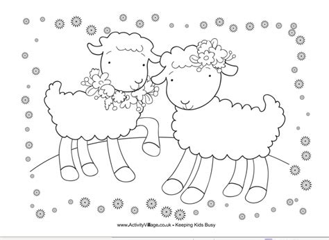 disney coloring pages spring spring lambs coloring page gt gt disney coloring pages