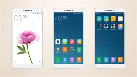 xiaomi mi 5 themes download the two new xiaomi mi max themes download links
