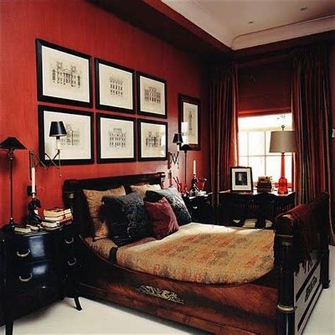 red walls bedroom the rich red walls in this nicolas haslam designed