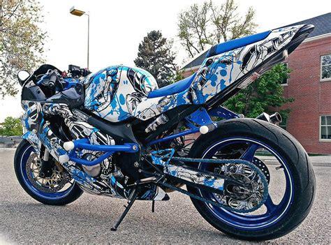 Motorrad Vinyls by Custom Motorcycle Bike Vinyl Wrap Service